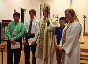 confirmands_bishop sean