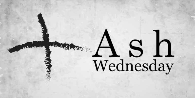 Ash Wednesdaay graphic