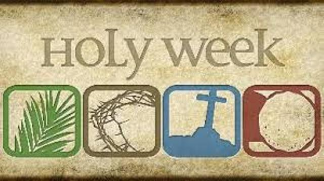 Holy Week Graphic 2018