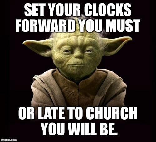 Yoda - Time Change
