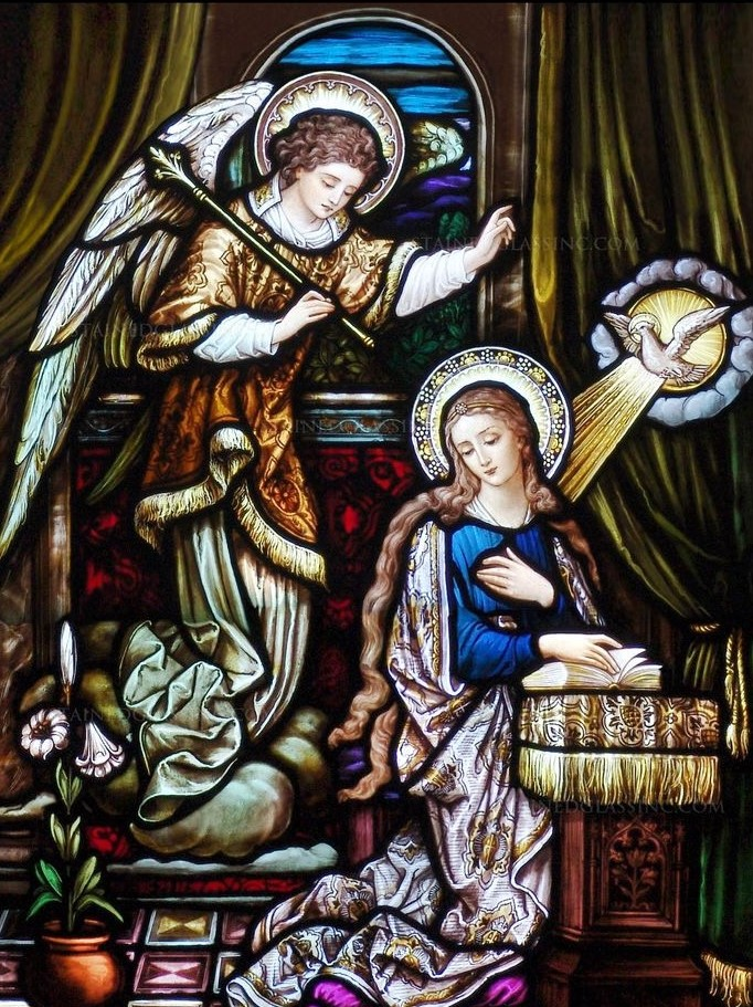 Annunciation graphic for webpage