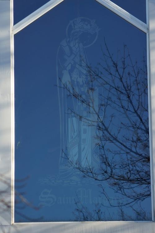 st margaret carved glass