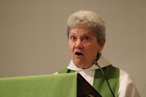Donna Preaching 1
