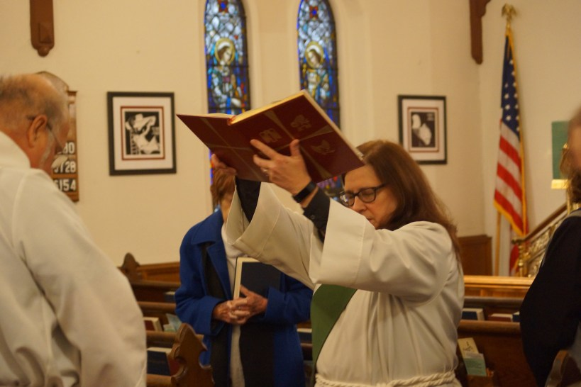 Liz Proclaiming the Gospel