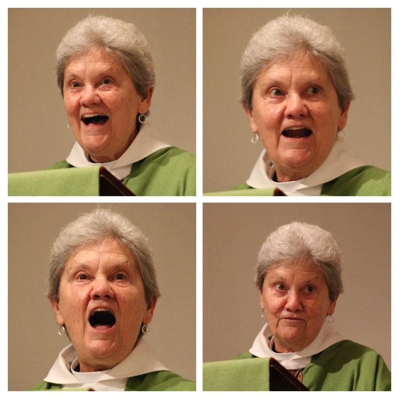 Donna Farewell Preaching Collage