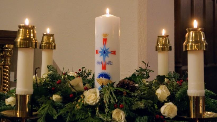 Christ Candle for Christmas 2018