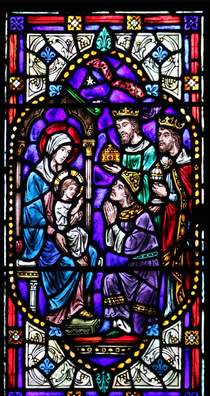 epiphany - stained glass from chapel