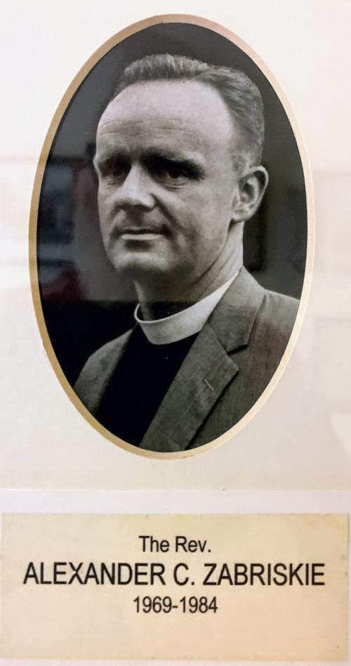 Alexander C. Zabriskie 1969-1984