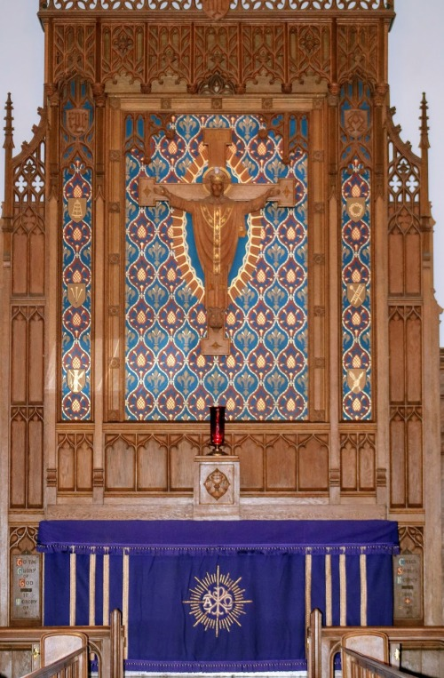 A+O High Altar for Laetare
