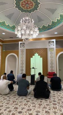 Prayers at the Mosque
