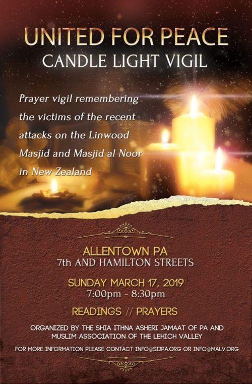 United for Peace Vigil 03-17-19