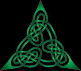 Green Celtic Cross from Bulletin 06-21-19