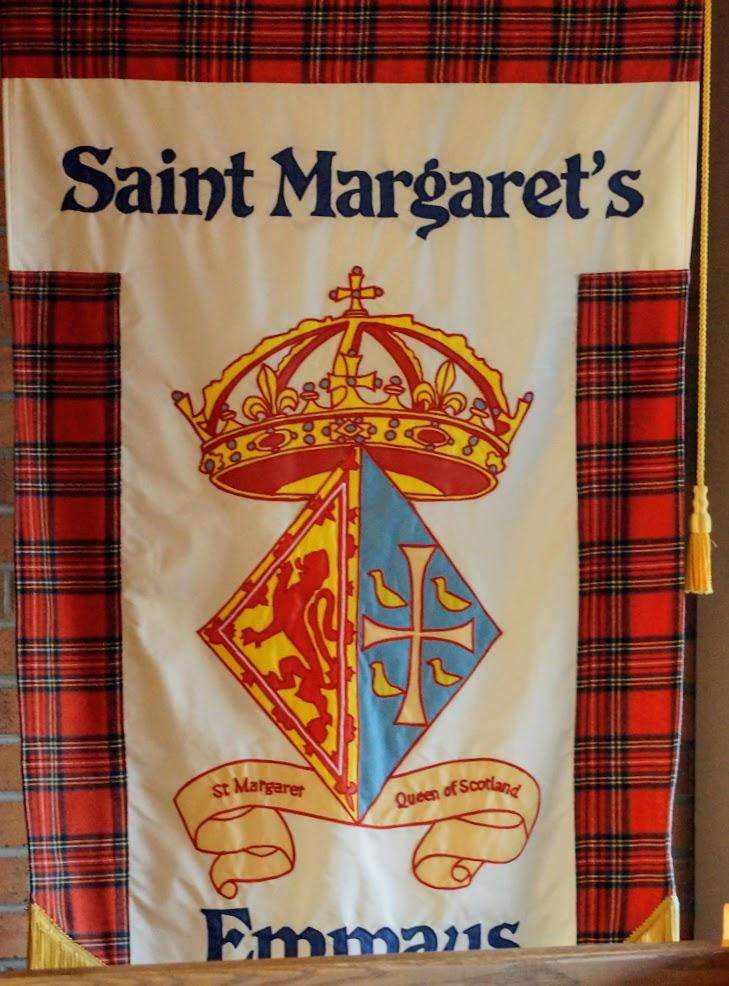 Saint Margaret Banner (celtic)